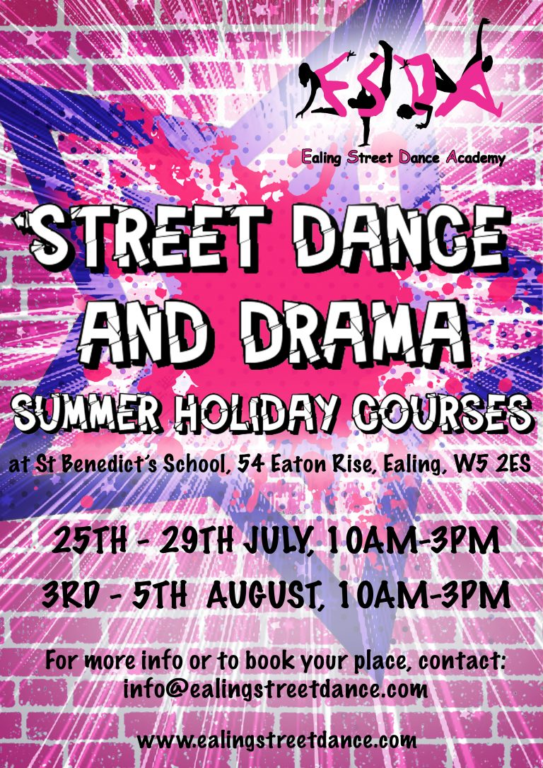 Ealing Street Dance Academy - Holiday Courses